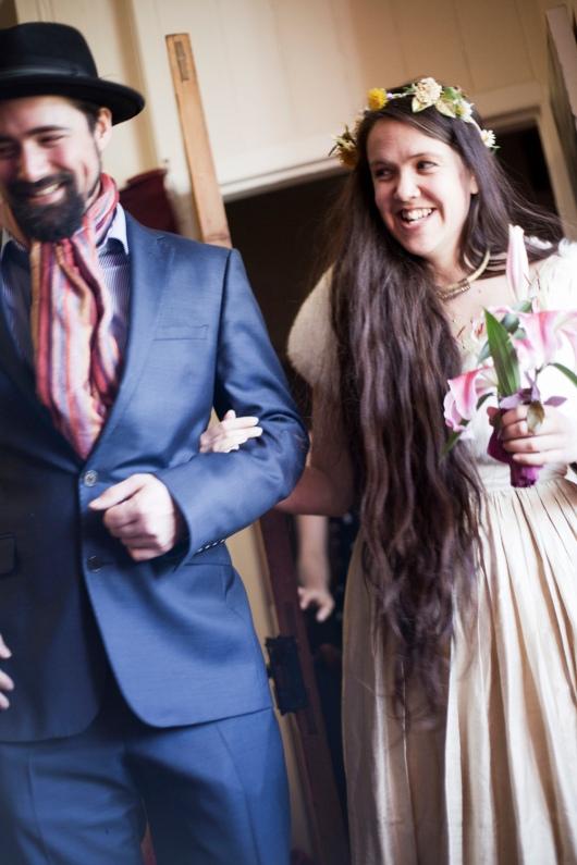 גרייס גלדר בחתונה שלה עם עצמה (ראו גם: cegelder.co.uk)