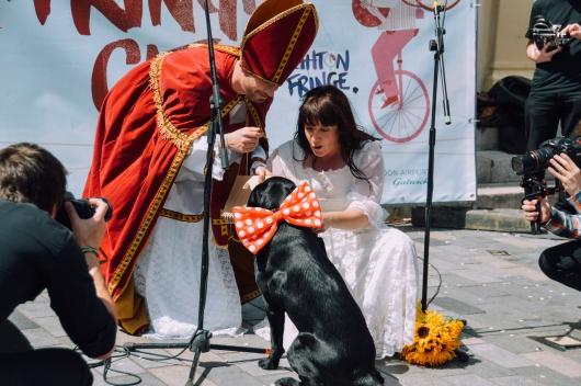 סופי טאנר מתחתנת עם עצמה (פרטים מלאים אצלה ב: http://www.sophietanner.co.uk/)